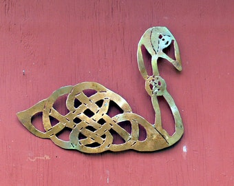 Celtic Swan Wall Art