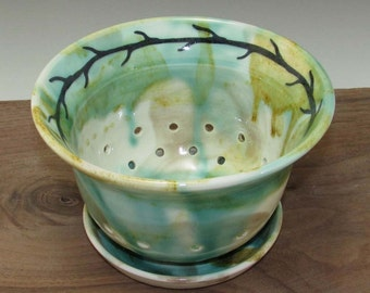 Winter Sun Berry Bowl