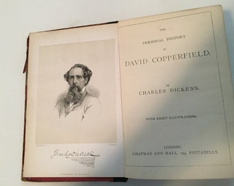 Early Edition of David Copperfield by Charles Dickens