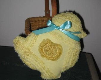 Handmade Vintage Little Sugarless Easter Peep