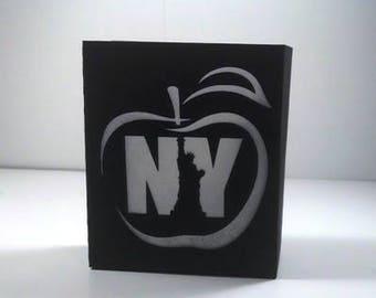 DIY apple and iberty New York box