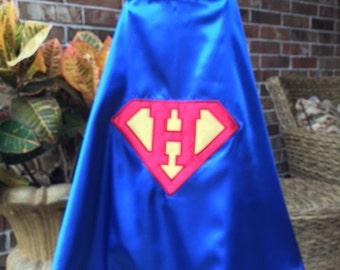 Superman Cape - Personalized Letter