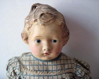 Antique 1910s Metropolitan composition Doll