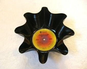 Jimmy Buffett Record Bowl Made From Repurposed Vinyl Album