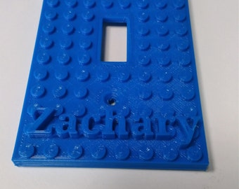 Lego light switch plate