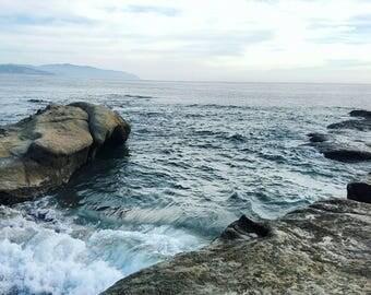 Photo print of the Oregon coast