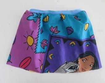 Pocahontas & Meiko Baby Girls Skirt