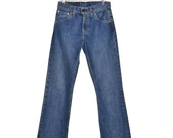ON SALE Vintage Womens LEVI'S Levis Bootcut 507 Jeans Denim 26x32 Levi's Strauss