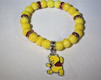 Winnie the Pooh Stretchy Bracelet
