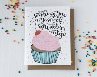 Birthday Card for Her, Best Friend Birthday Card, Card for Girlfriend, Girlfriend Birthday Card, Birthday Card BFF, Bestie Birthday Card