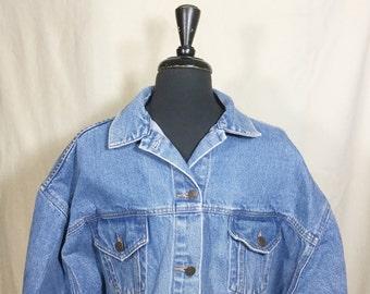 Venezia jacket, denim jacket, vtg denim, Venezia denim, woman's denim, jean jacket,