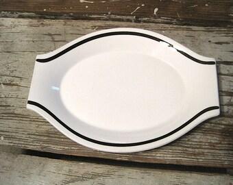 Jac-alume Jackson China Paul McCobb Restaurant Ware Platter