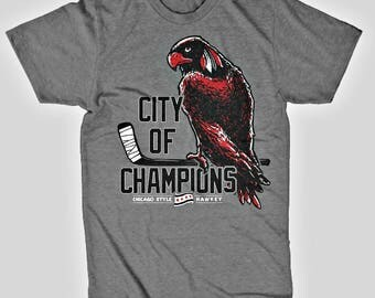 Chicago Blackhawks City of Champions T-Shirt