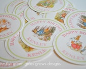 Beatrix Potter Peter Rabbit Sticker Labels