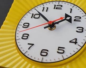 Vintage Sunbeam Wall Clock - Starburst Sunburst Atomic Eames Era Mid Century Modern 1950's 60's