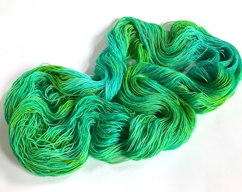 Sea Spiral Sock Yarn.  Blue And Green Should Always Be Seen