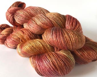 Beautiful Stranger. Evangeline Silk Bamboo Lace Yarn.