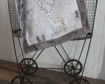 Baby blanket,- SHips Today- Lovey, Lovey blanket, 18 x 18, Minky blanket,small travel lovey