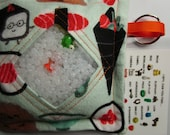 I Spy Game Sushi, Neutral contents, eye spy, busy bag, seek and find game, party favor, sensory occupational therapy, spy game, autism