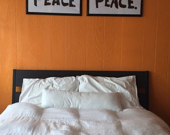 Hair Peace / Bed Peace Posters