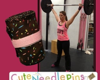 Free Shipping to the US** CrossFit Wrist Wraps - Donut Sprinkles - DH
