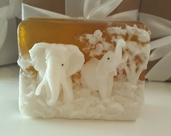 elephant soap bar - valentines day - gift for her - gift for teen - valentines for wife - gift for mom - sister gift - valentines for her