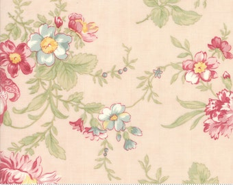 Poetry - Romantic Bloom in Blush by 3 Sisters for Moda Fabrics