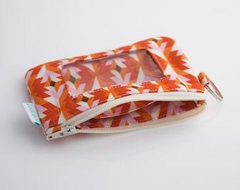 Christmas Gift for Her, ID Wallet Keychain, Wristlet Wallet, Handmade Wallet, Zookaboo