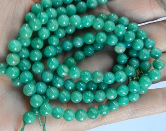 6mm  Russian Amazonite beads  FULL STRAND (16inches)