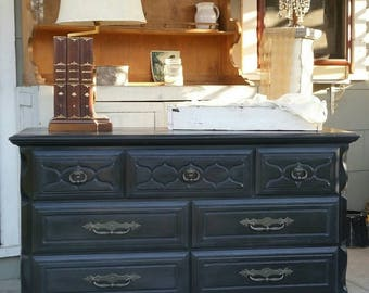 Vintage, Mid Century Modern, Rustic, Farmhouse Dresser/Media Center