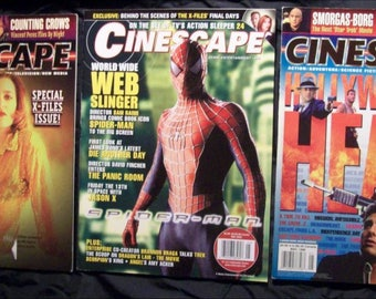 Cinescape issues may and august 96 and may 2002