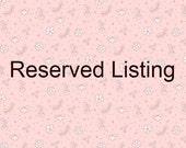 Reserved listing for shannonmorris90