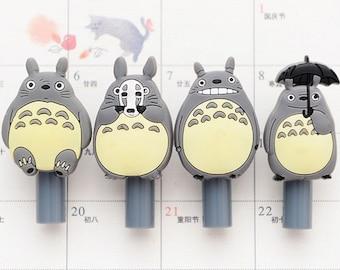 4Pcs Cute Totoro Pen - Gel Ink Pen - Kawaii Pen