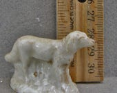 Antique 1870 Frozen Charlotte Vintage Excavated German  Victorian Dog Great For Altered Art Oscarcrow