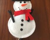 Nurse badge reel, Winter badge reel, snowman badge reel, Christmas badge reel, snowman badge holder, gift for teacher, gift for nurse