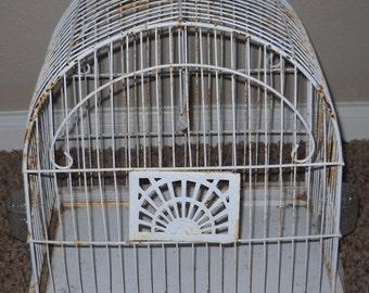 Vintage Birdcage - Shabby Chic