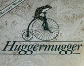 Huggermugger Wortspiel 1989, Brettspiel, neuen Zustand Huggermugger Spiel