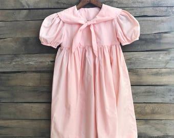 Vintage Children's Pink Dress