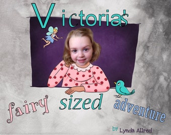 Custom order children's book your photo name fairy book