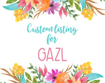 RESERVED FOR GAZL - Watercolor Teal Birthday Package