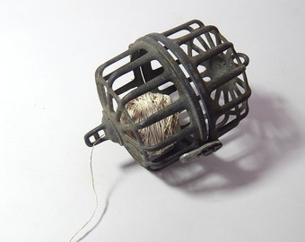 Antique French Butcher's String Dispenser
