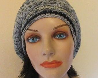 Crochet Slouchy Beanie Hat, Women's Slouchy Beanie, Men's Slouchy Beanie, Slouch Hat, Slouch Beanie, Boho Slouchy Hat