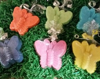 Mini Butterfly Goats Milk Soap