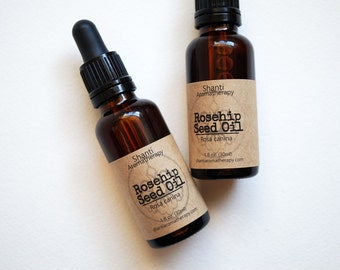 Rosehip Seed Oil - Organic - Skin Care Natural Mositurizer for Dry and Aging Skin