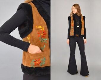 Vegan Embroidered Vest