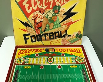 1940s Electric Football Game in Box