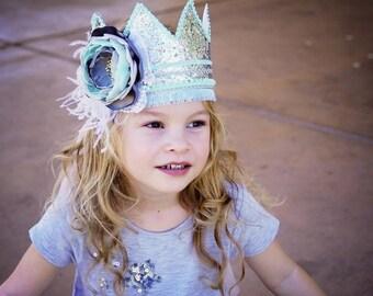 Birthday Crown - First Birthday Crown - Birthday Celebration Crown - Cake Smash Photo Prop