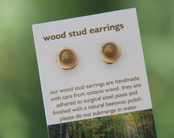 cedar- little stud earrings