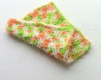 Scrubby Cloth, Scrubby Yarn Dishcloth, Scrubby Cleaning Cloth, Scrubby Kitchen Cloth, Scrubby Yarn Cloth, Scrubby Bath Cloth