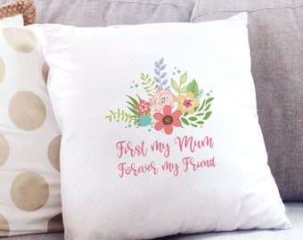 First My Mum... Personalised Cushion Cover
